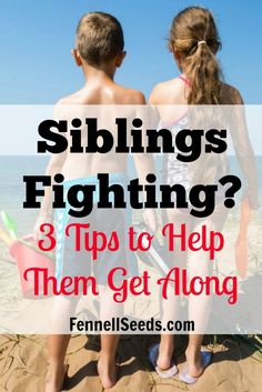 Siblings Fighting? 3 Tips to Help Them Get Along. My favorite things I learned…