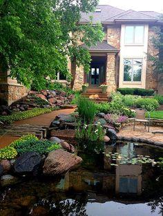 Stunning 188 Front Yard Pond Design Ideas https://architecturemagz.com/188-front-yard-pond-design-ideas/
