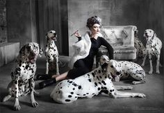 15 Photos of Disney Characters Brought to Life :: 101 Dalmations, Cruella de Vil