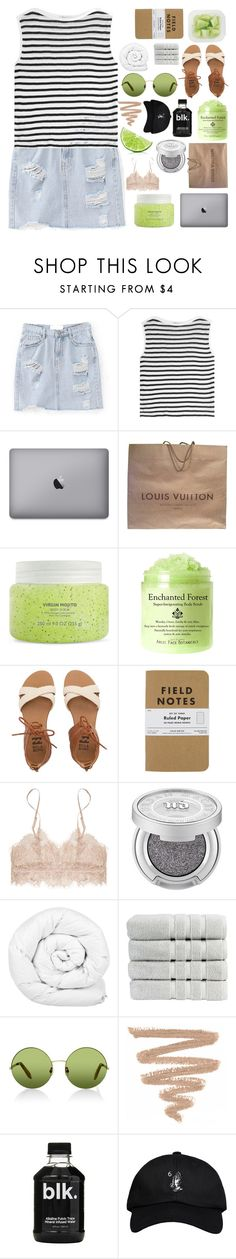 """dollar bills"" by h0ld-0n-let-g0 ❤ liked on Polyvore featuring T By Alexander Wang, Louis Vuitton, Billabong, Urban Decay, Brinkhaus, Christy, Victoria, Victoria Beckham and October's Very Own"