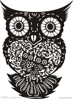 owl papercut - source unknown