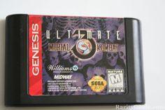 Cartucho de Juego (Mortal Kombat 3 Ultimate) para Sega Genesis.