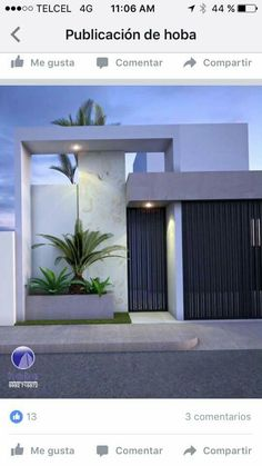 Fence Wall Design, Exterior Wall Design, Modern Fence Design, Front Gate Design, House Gate Design, Door Gate Design, Entrance Design, Facade Design, Modern House Design