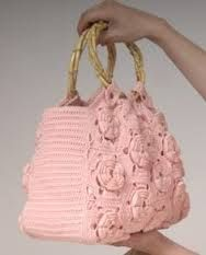 crochet freeform bag borsa uncinetto