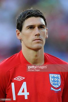 Gareth Barry lines up for the national anthems prior to the 2010 FIFA World Cup South Africa Group C match between Slovenia and England at the Nelson Mandela Bay Stadium on June 2010 in Port. Get premium, high resolution news photos at Getty Images England National Team, England Football, National Football Teams, National Anthem, Fifa World Cup, Lineup, England International, English
