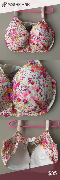 Victoria's Secret Dream Angels bra floral size 36D Victoria's Secret Dream Angels 👼 floral print bra size 36D Victoria's Secret Intimates & Sleepwear Bras