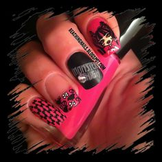 Nail Art Gallery Monster High Found On Polyvore Things My Divas