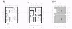 Galería de Mención Honrosa en Concurso de diseño de vivienda social sustentable en la Patagonia / Aysén, Chile - 12 Patagonia, Chile, Floor Plans, Socialism, Social Housing, Projects, Chili Powder, Chilis, House Floor Plans