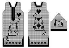 Mis Pasatiempos Amo el Crochet: 4 Tùnicas moldes con diseños