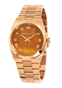 MICHAEL KORS Rose Gold Ladies Channing Watch