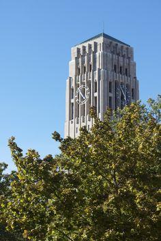 Burton Memorial Tower at the University of Michigan in Ann Arbor, Michigan