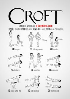 Croft - Darebee Workout