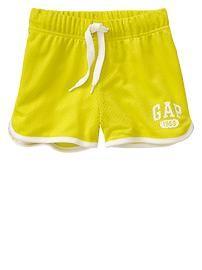 Logo mesh varsity shorts