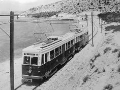 Piraeus-Perama light railway in Greece Old Pictures, Old Photos, Good Old Times, Light Rail, Beautiful Places, Beautiful Pictures, Athens Greece, Ancient Greek, Public Transport