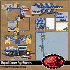 Mad for the Mouse: Have you heard? Cruise Scrapbook, Disney Scrapbook, Scrapbooking, Disney Magical Express, Disney Cruise, Epcot, Holiday Decor, Starters, Mad