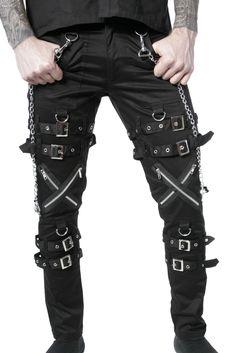 Gothic Pants For Men Gothic pants for men modern Herrmode 27d60e81575c2