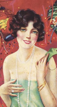 Artwork for a late 1920s chocolate box
