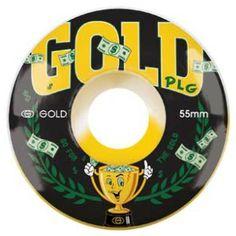 going for gold | Gold 55mm Go For Gold Skateboard Wheels