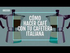 Tutorial: Cómo hacer el mejor café con cafetera italiana - YouTube