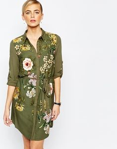Buy Oasis Opium Print Shirt Dress at ASOS. With free delivery and return options (Ts&Cs apply), online shopping has never been so easy. Get the latest trends with ASOS now. Khaki Shirt Dress, Oasis, Tall Dresses, Maxi Robes, Moda Online, Latest Dress, Latest Fashion Clothes, Women's Fashion, Dress Patterns