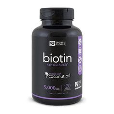 Biotin Supplements by Sports Research