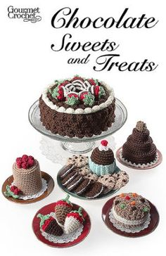 Maggie's Crochet · Chocolate Sweets and Treats Pattern
