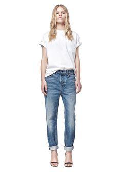 Alexander Wang 003 Boy Fit Jeans in Light Blue
