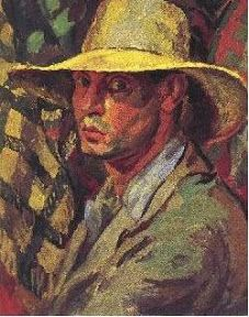 Self Portrait by Duncan Grant (Scottish Duncan Grant, Duncan James, Dora Carrington, Vanessa Bell, Virginia Woolf, Selfies, Art Grants, Bell Art, Bloomsbury Group