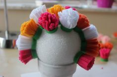 Como fazer arranjos de flores de feltro lindos para a decoração de sua casa nas quatro estações do ano ~ VillarteDesign Artesanato