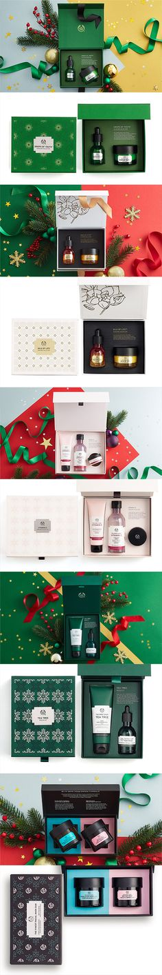 The Body Shop 2016 Christmas Gift Sets Packaging
