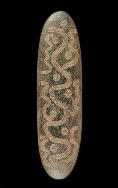 Oceanic Art - Stone churingas, Australia