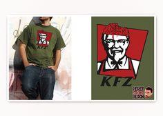 Zombies + Kentuchy Fried Chicken = KFZ!