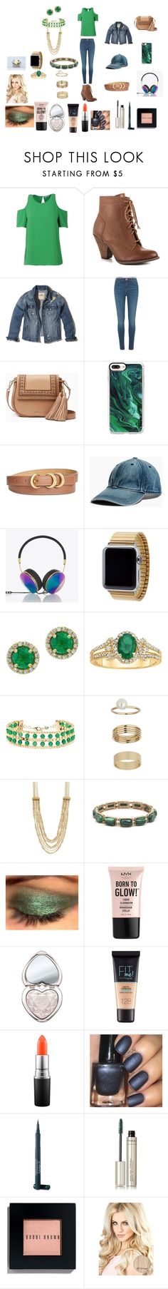 """Walking In The Forest"" by shadowmentor on Polyvore featuring P.A.R.O.S.H., Mojo Moxy, Hollister Co., River Island, Kate Spade, Casetify, Anne Klein, Madewell, Frends and Rilee & Lo"
