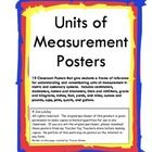 This is a bundle of 19 posters depicting units of measurement in both customary and metric systems.  Students are given a reference to help them vi...