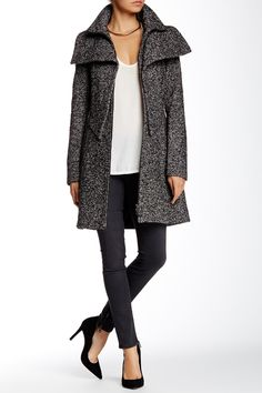 Prepare your fall wardrobe by adding this cozy coat to your closet!