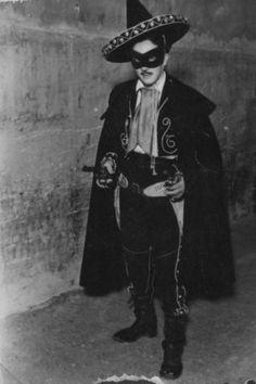 Un fan disfrazado de 'El Coyote' en 1948 Salsa Party, Party Flyer, Exhibitions, Novels
