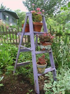 Guess I don't have to throw out that old wooden ladder in my garage
