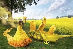 Fashion Photography: 'Wonderland' by Kirsty Mitchell