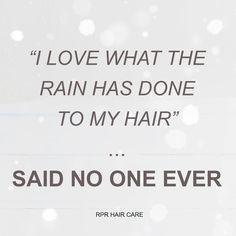 Winter Hair Problems #rprhaircare #winterhair #rain #hair #lovehair #hairdressers #hairquote #instaquotes #quotes #hairproducts #australianproducts #australianmade