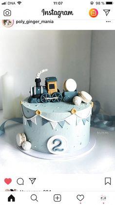 Ideas baby boy birthday cake simple for 2020 Boys First Birthday Cake, Baby Birthday Cakes, Baby Boy Cakes, Baby Shower Cakes, Blue Birthday, 17th Birthday, Birthday Cake Decorating, Cake Designs, Cupcake Cakes