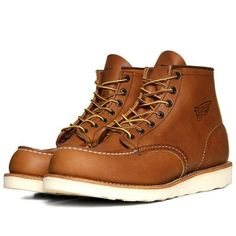 Men's Red Wing 875 Heritage Work Moc Toe Boot