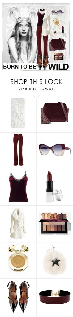 """""""Wild From The Inside Out"""" by janetvera ❤ liked on Polyvore featuring Polaroid, Pom Pom at Home, Anya Hindmarch, M.i.h Jeans, Italia Independent, Miss Selfridge, Barry M, WithChic, Milani and STELLA McCARTNEY"""