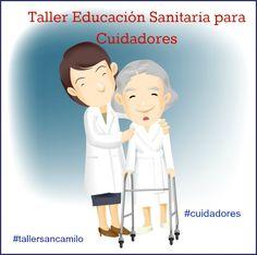 #tallersancamilo para #cuidadores de #ancianos