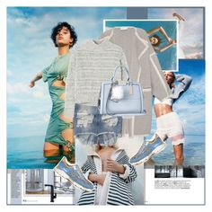 """..."" by margarita96 ❤ liked on Polyvore featuring moda, Damaris, Chloé, René Caovilla, Abercrombie & Fitch, Rebecca Taylor, River Island, women's clothing, women e female"