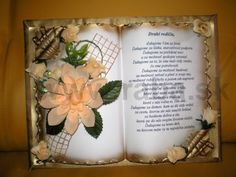 Card Book, Book Folding, Book Art, Diy And Crafts, Projects To Try, Frame, Artwork, Cards, Craft Ideas