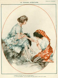 1920s La Vie Parisienne Magazine - - Cherie Herouard, illustrator