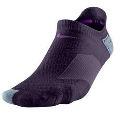 Nike Les Femmes Chaussettes Violettes Coureurs