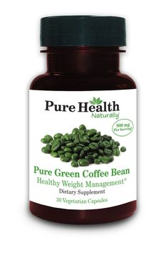 As Seen On Doctor Oz.   Pure Green Coffee Bean Extract Capsules. Contains Only The Extract Of The Coffee Bean , No Other Ingredients Added.