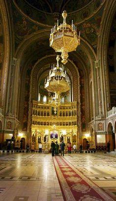Orthodox Cathedral of Timisoara, Banat, Romania Beautiful Places To Visit, Beautiful World, Romanian Flag, Asia City, Republic Of Macedonia, Visit Romania, Voyage Europe, Kirchen, Eastern Europe
