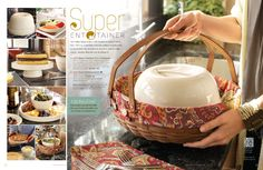Longaberger 8 in 1 Party Entertainer! Can be used for serving so many different party foods so many different ways!
